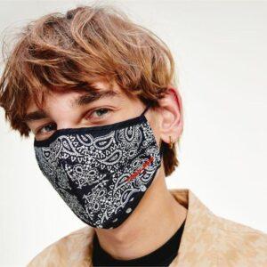 Tommy Hilfiger Bandana Face Mask Twilight Navy