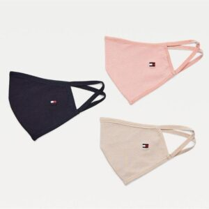 Tommy Hilfiger Face Mask 3-Pack Corporate