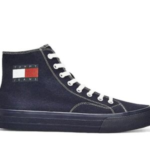 Tommy Hilfiger Mens Midcut Lace Up Twilight Navy