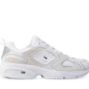 Tommy Hilfiger Mens Heritage Seasonal Sneaker White