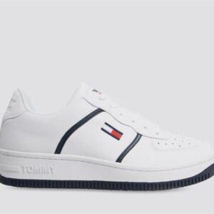 Tommy Hilfiger Mens Basket Cupsole Sneaker White