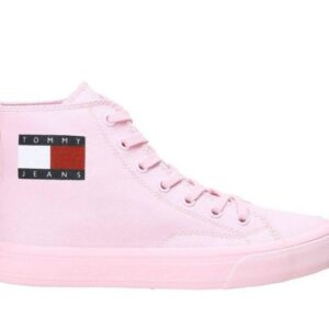 Tommy Hilfiger Womens Midcut Lace Up Romantic Pink