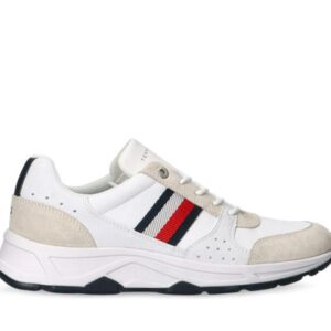 Tommy Hilfiger Mens Chunky Sole Runner White