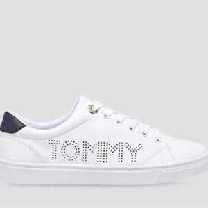 Tommy Hilfiger Womens Iconic Cupsole Sneaker White
