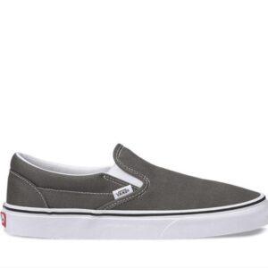 Vans Classic Slip On Charcoal White