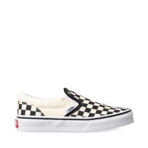Vans Kids Checkerboard Slip-On (Checkerboard) Black