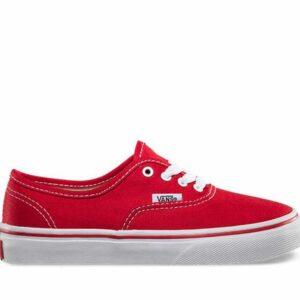 Vans Kids Authentic Red