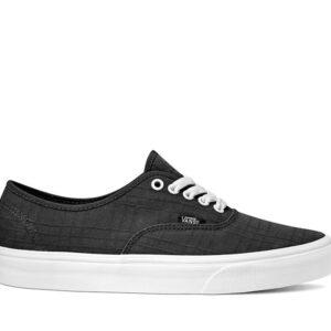 Vans AUTHENTIC TONAL PLAID (Tonal Plaid) Black