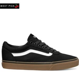Vans WARD CANVAS BLACK GUM (Canvas) Black