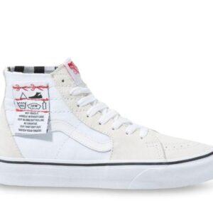 Vans SK8-Hi Tapered DIY White