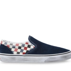 Vans WASHED CLASSIC SLIP-ON SHOES (Washed) Dress Blues