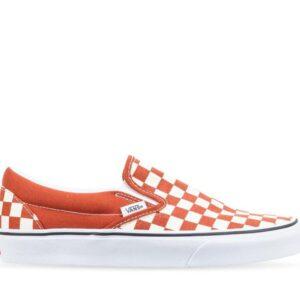 Vans Classic Slip-On Checkerboard (Checkerboard) Picante