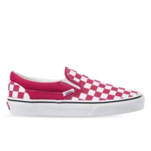 Vans Checkerboard Classic Slip-On Cerise