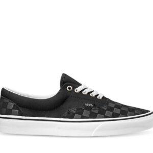 Vans Deboss Checkerboard Era (Deboss Checkerboard) Black
