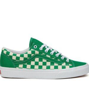 Vans Style 36 Checkerboard Jolly Green