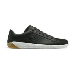 Vivobarefoot Geo Court 2.0 - Womens Sneakers - Obsidian/White