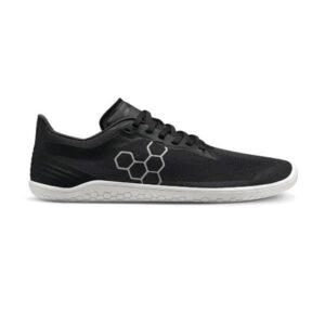 Vivobarefoot Geo Racer 2.0 - Womens Running Shoes - Obsidian