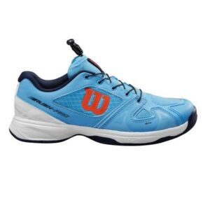 Wilson Rush Pro Junior QL - Kids Tennis Shoes - Bonnie Blue/Black