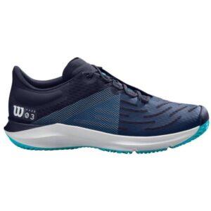 Wilson Kaos 3.0 AC Mens Tennis Shoes - Peacoat/White/Scuba Blue