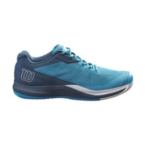 Wilson Rush Pro 3.5 AC Mens Tennis Shoes - Barrier Reef/Majolica Blue/White