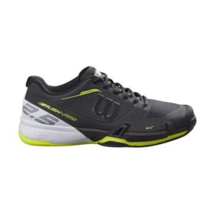 Wilson Rush Pro 2.5 AC Mens Tennis Shoes - Black/White/Lime Popsicle