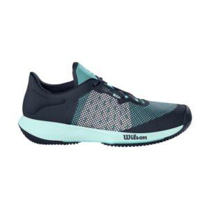 Wilson Kaos Swift AC Womens Tennis Shoes - Outer Space/Aruba Blue/Soothing Sea
