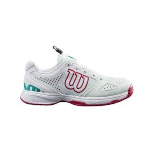 Wilson Kaos QL Kids Tennis Shoes - Soothing Sea/White/Sangria