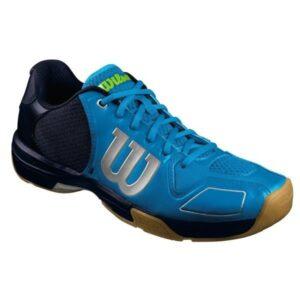 Wilson Vertex Mens Indoor Court Shoes - Blue/Black