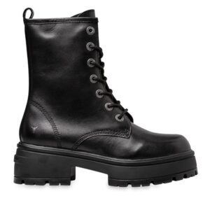 Windsor Smith Womens Polar Blk Leather