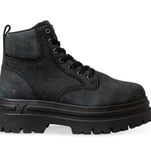 Windsor Smith Womens Attitude Boot Charcoal Black