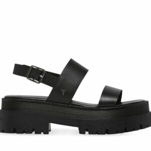 Windsor Smith Womens Tasty Sandal Black Leather