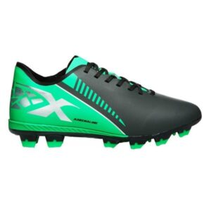 XBlades Voltaic Adrenaline JNR - Kids Football Boots - Charcoal/Green