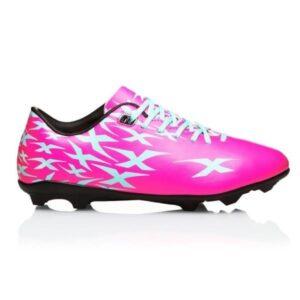 XBlades Intercept Flash JNR - Kids Football Boots - Candy Pink/True Blue