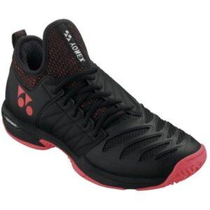 Yonex Fusion Rev 3 Mens Tennis Shoes - Black/Red