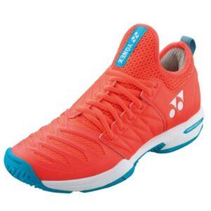Yonex Fusion Rev 3 Womens Tennis Shoes - Coral Orange