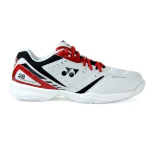 Yonex Power Cushion 28 Mens Indoor Court Shoes - White/Red