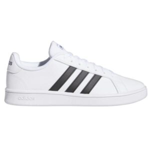 Adidas Grand Court Base - Mens Sneakers - Footwear White/Core Black/Dark Blue