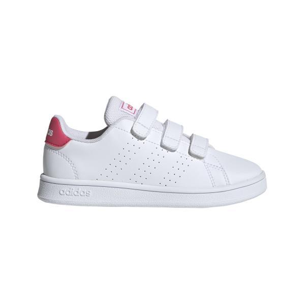 Adidas Advantage PSV - Kids Sneakers - White/Real Pink