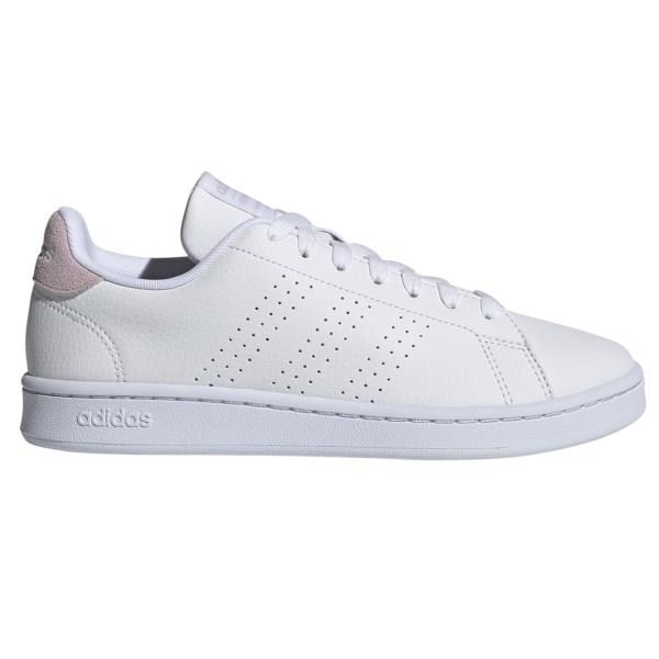 Adidas Advantage - Womens Sneakers - White/Aero Pink