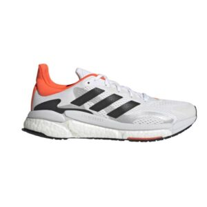 Adidas SolarBoost 3 Tokyo - Mens Running Shoes - White/Black/Solar Red