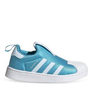 Adidas Adidas Kids Superstar 360 Signal Cyan