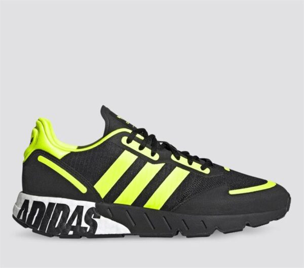 Adidas Adidas Mens ZX 1K Boost Core Black