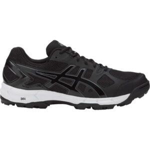 Asics Gel Lethal Elite 6 - Mens Turf Shoes - Black/Dark Grey