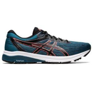 Asics GT-800 - Mens Running Shoes - Magnetic Blue/Sunrise Red