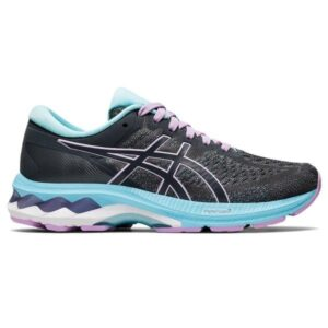 Asics Gel Kayano 27 GS - Kids Running Shoes - Carrier Grey/Lilac Tech