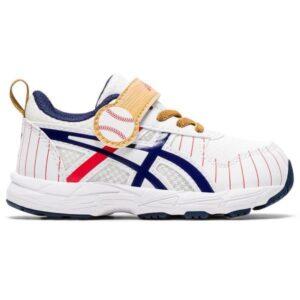 Asics Contend 6 TS Baseball - Toddler Running Shoes - White/Peacoat