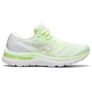 Asics Gel Nimbus 23 - Womens Running Shoes - Illuminate Yellow/Pure Silver