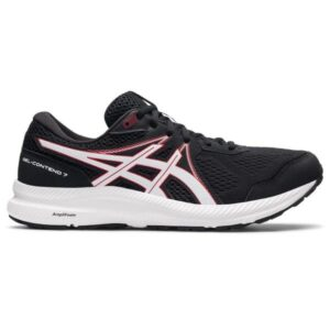 Asics Gel Contend 7 - Mens Running Shoes - Black/Electric Red