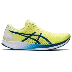 Asics Hyperspeed - Mens Road Racing Shoes - Glow Yellow/Deep Sea Teal