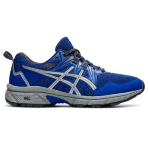 Asics Gel Venture 8 - Womens Trail Running Shoes - Lapis Lazuli Blue/Pure Silver